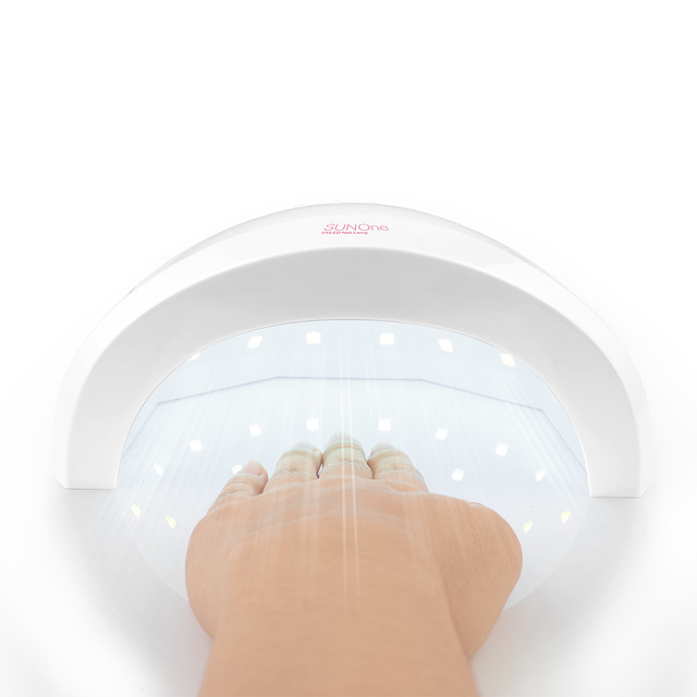 Profesjonalne sunone suszarka do paznokci lampy uv led żel utwardzania Paznokci światła nm + 405nm Obrabiarka podwójne źródło światła