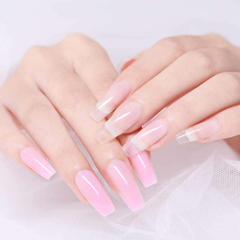 Ur Suiker 30 Ml Quick Building Poly Nail Gel Nail Art Transparant Clear Color Jelly Verlengen Kristal Uv Gel