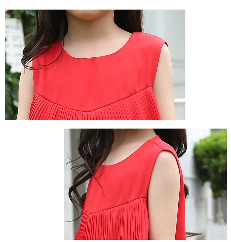 chiffon girls layered dress little teenage kids girl summer dress 2016 white red midi long dresses for girl clothes kids sundress 5 6 7 8 9 10 11 12 13 14 15 16 years old little teenage big girls dresses sleeveless children clothing (15)