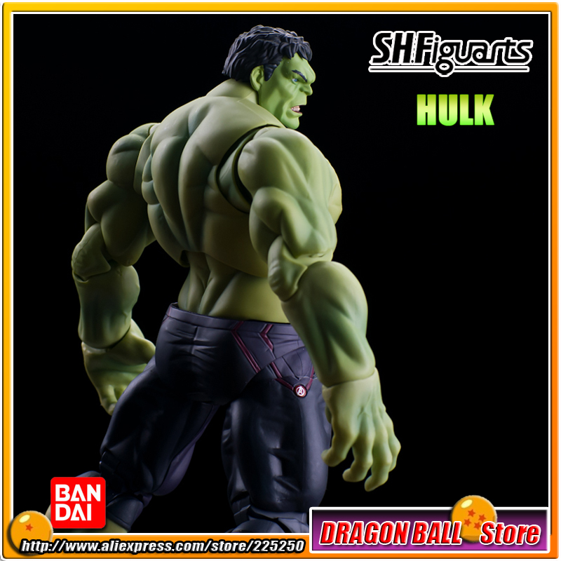 Marvel The Avengers 2 - Age of Ultron Original BANDAI Tamashii Nations SHF/ S.H.Figuarts Action Figure - Hulk marvel s the avengers age of ultron prelude