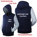 Personalizado de alta Qualidade Moletom Com Capuz Camisola padrão personalizado design de impressão DO LOGOTIPO simples DIY Engrossar hoodies Zíper dos homens