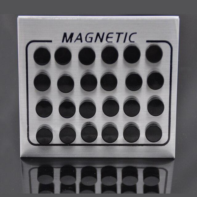 084cf6d9bee3 LEMOER 12prs lot 6 8 10mm un solo lado negro imán círculo redondo. Sitúa el  cursor encima para hacer zoom