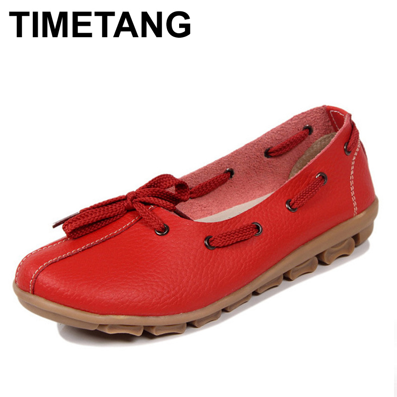 TIMETANG new women flats women genuine leather shoes flat maternity Bind the shallow mouth for women's shoes timetang new women flats women genuine leather shoes flat maternity bind the shallow mouth for women s shoes