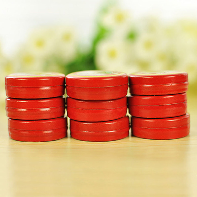 24Pcs Red Tiger Head Menthol Balm Refreshing Relief Headache Essential Oil Massage to relieve headaches
