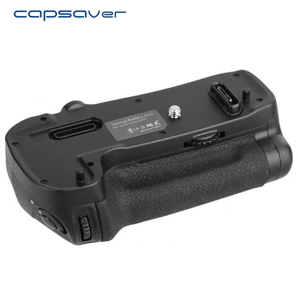 capsaver Multi-Power Vertical Battery Grip per Nikon D500 Replacement per MB-D17 Camera Professional con impugnatura a batteria