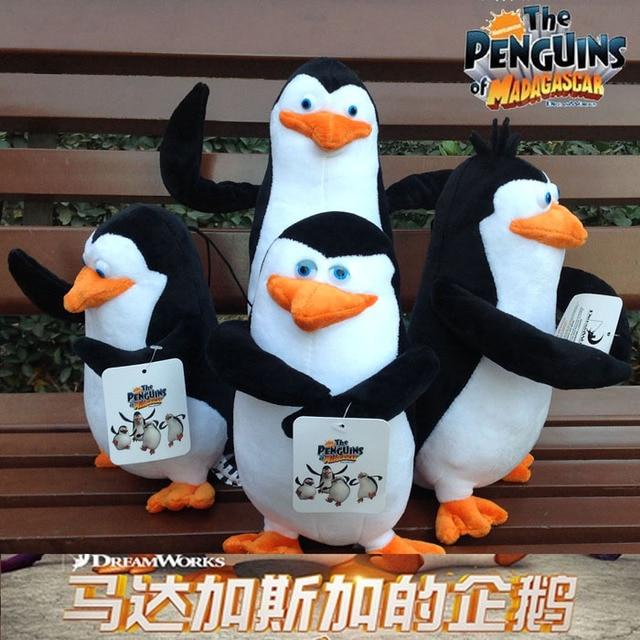 The Penguins Of Madagascar Skipper Kowalski Private Rico Cute Soft Stuffed Animals Plush Toy Doll Birthday