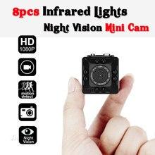 SQ10 Mini Câmera Full HD 1080 P DV Segredo DVR Camcorder Visão noturna Sensor de Movimento de Vídeo Digital Gravador de Voz Micro Esporte Cam
