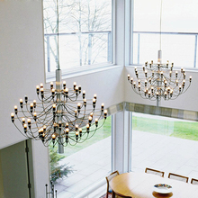 Stair spider chandelier for Living room Bedroom Kitchen Bar nordic design pendant lamp Loft Decor Fruit tree branch