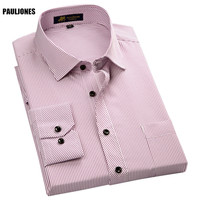 2015 Men Linen Shirts With Long Sleeves Male Casual Shirt Imported Clothing Roupas Masculinas Mens Striped