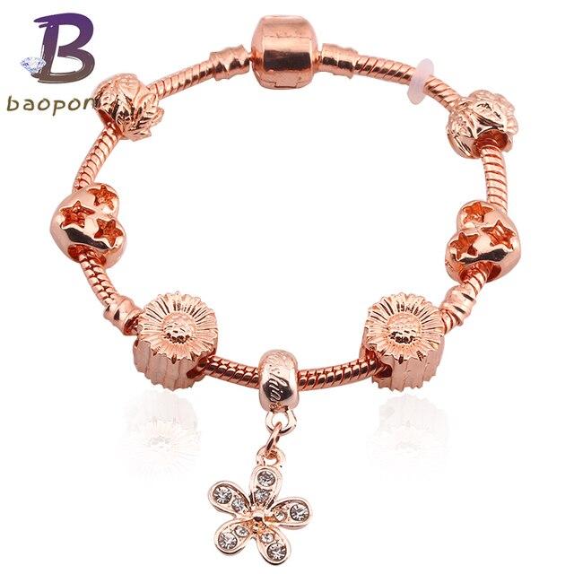 f3fad9575 czech authentic pandora bracelet silver bangle with fb9f7 511e6; where can  i buy baopon rose gold colour high quality charm bracelet murano beads cz  brand