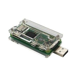 Image 4 - Original Raspberry Pi Zero W Board with WIFI & Bluetooth 1GHz CPU 512MB RAM Optional USB Add on Board Acrylic Case for RPI Zero