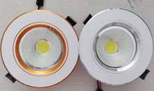 Factory Wholesale price Dimmable 7W COB LED Down Light with CE & RoHS Approval / Recessed Downlight Free shipping