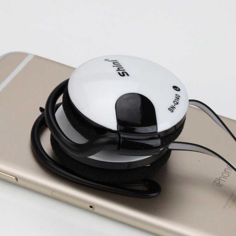 الأصلي Q140 سماعات باس مشبك الأذن سماعات سوبر واضح سماعة ياربود ل iphone 6 Meizu Xiaomi MP3 PC مع ميكروفون