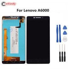 Для Lenovo A6000 ЖК-дисплей Дисплей + Сенсорный экран repl A цемента дигитайзер Ассамблеи для Lenovo 6000 repl A CE запчасти ЖК-экран