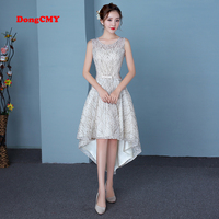DongCMY CGL005 New Arrival 2019 HomeComing Dress Champagne Color Party Elegant Women Gown