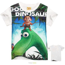 Kids Clothes The Good Dinosaur Boys T Shirt Fashion Cartoon Children Clothing Short Sleeve T-shirt Boy 2016 Summer Tops Camiseta
