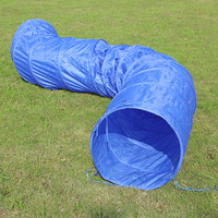 5M Collapsible Dog Tunnel Durable Flexible Professional Dog Training Tunnel Funny Outdoors Pet Playing Toys For Big Dog Cats
