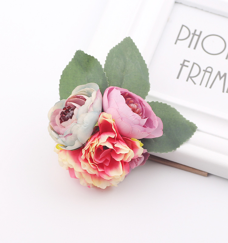 7668a5e80 Hair accessory fabric peony big flower corsage brooch child full dress work  wear hat flower for Kids party Photography-in Women's Hair Accessories from  ...