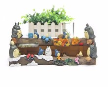 New Studio Ghibli My Neighbor Totoro Toys DIY Hayao Miyazaki Four Season Resin Action Figures Collection Model Decor