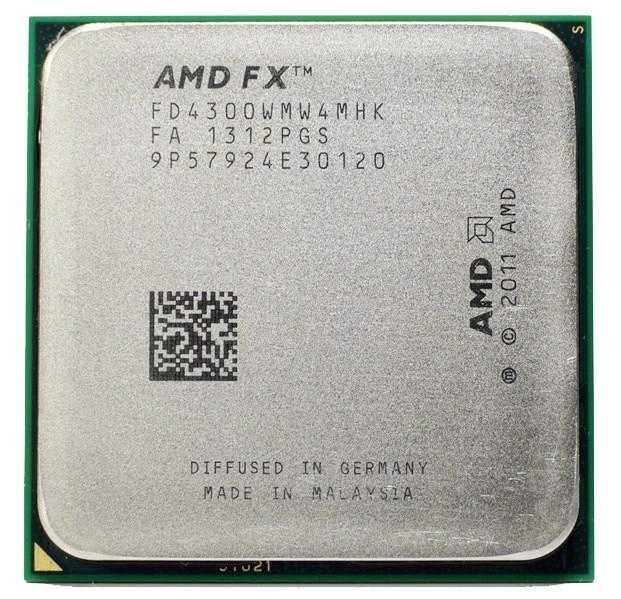 Prix pour AMD FX 4300 3.8 GHz Quad-Core Processeur Socket AM3 + 32NM CPU Vrac Paquet FX-4300