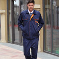 FREE SHIPPING Set of Coat+Pants Sweat absorbing male summer long-sleeve work wear set work clothes tooling protective clothing