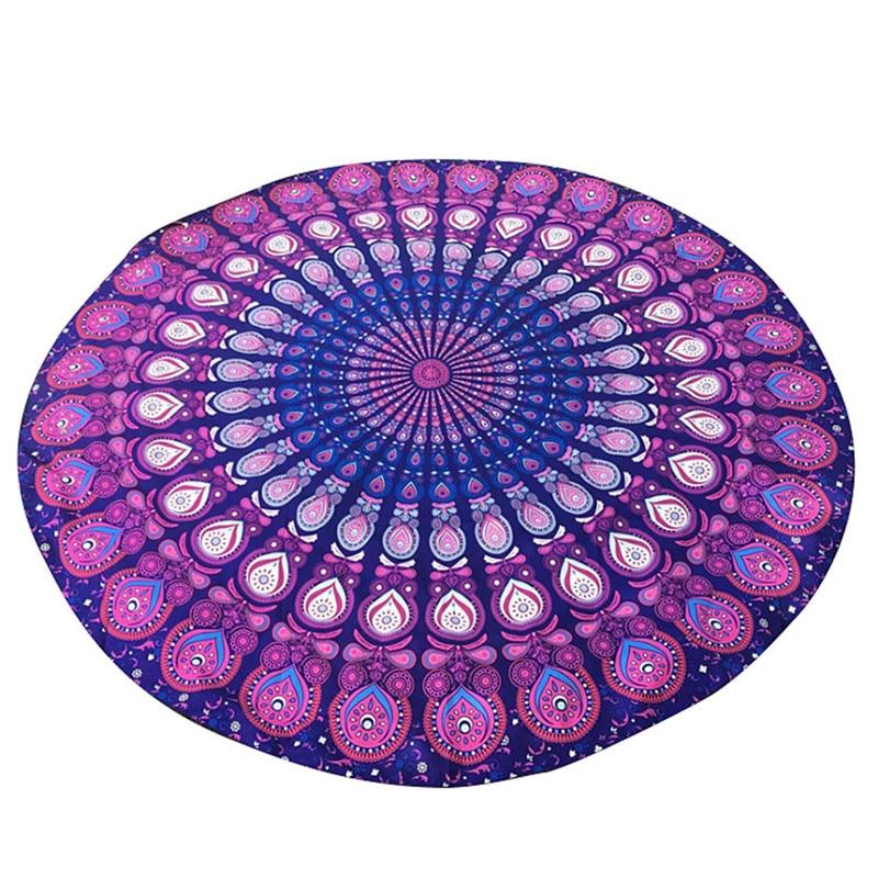 Bohemian 150cm Women Indian Persian Printed Round Chiffon Shawl Tapestry Retro Wall Hanging Towel Yoga Beach Mat T20 0 5. Retro Bath Mat Reviews   Online Shopping Retro Bath Mat Reviews on