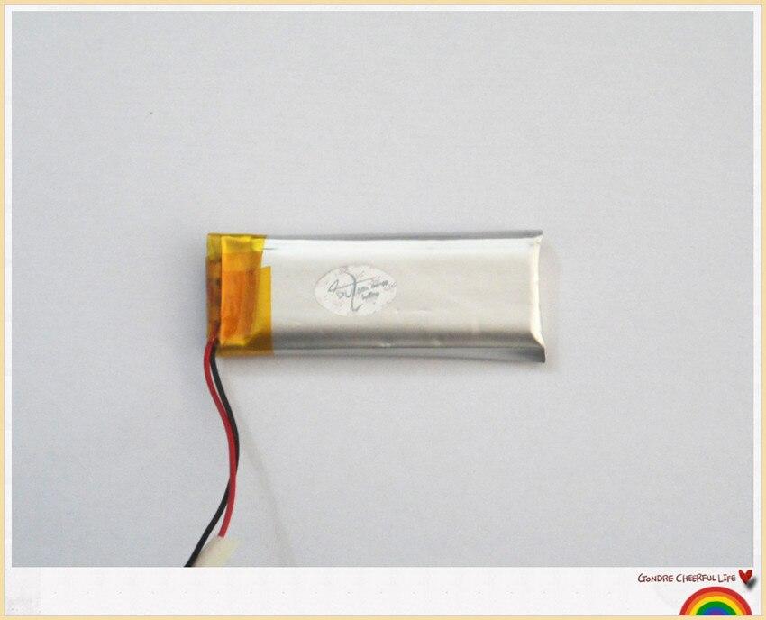Lithium polymer akku 501740 250 mah, voice recorder batterie, kamera ...