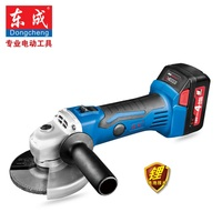 100mm Cordless Angle Grinder 18V Charge Disc Grinder 2pc 4 0Ah Li Ion Battery
