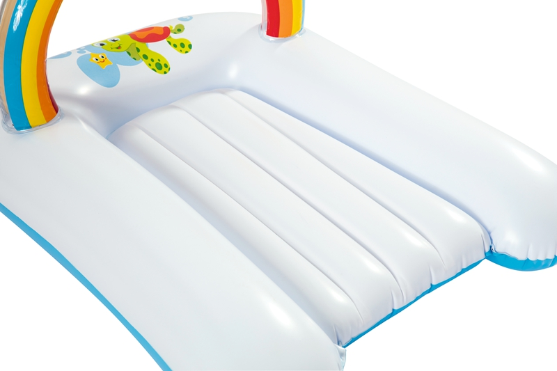 80cm Long Inflatable Baby Changing Bed Mat With Hanging Toys Extra Comfort Air Bed For Babies
