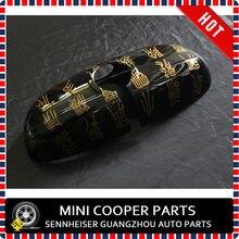 Абсолютно mini cooper F56 Алмазный Sutra стиль ABS материал УФ защищенная внутренняя зеркальная Крышка для mini cooper F55 S(1 шт./компл