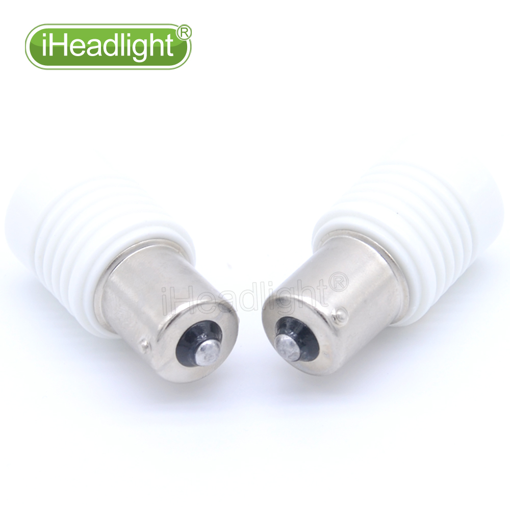 2x1156 3030 P21W 6 işıqlı Ağ İşıqlar 12V 24V 6W Güclü - Avtomobil işıqları - Fotoqrafiya 6