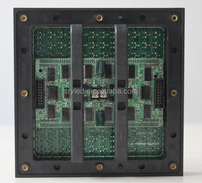 SRY led rental screen module p10 led module pcb rgb led moving sign led screen p10 led module