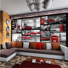 papel de parede sala Custom 3D mural wallpaper retro gray red bar KTV Leisure personalized wallpaper,3d wallpaper,wall paper beibehang papel de parede 3d gold foil wallpaper for walls 3d ktv restaurant classical chinese decoration wall paper papel mural
