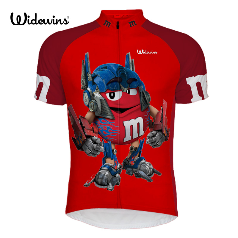 new men's Ropa Ciclismo cartoon cycling jersey MMDS-M cute ride shirt unique cycling clothing cool apparel novelty garments 6505