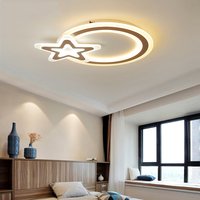 Modern Kids Room LED Ceiling Lights AC85 260V Star Lampara De Techo For Baby Children Room