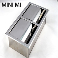 MINI MI 2018 NEW Cabinet Bathroom Roll Double Paper Holder Wall Mounted Kitchen Waterproof Stainless Steel Toilet Paper
