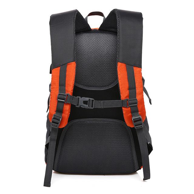 Waterproof Nylon Unisex Backpack with USB Port