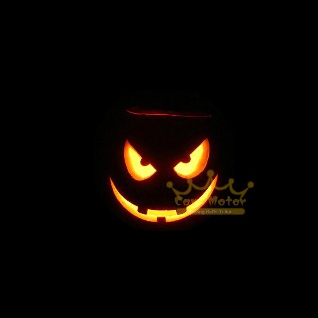 halloween horror pumpkin joke faces logo motorcycle laser projector shadow spotlight led logo light universal 3013