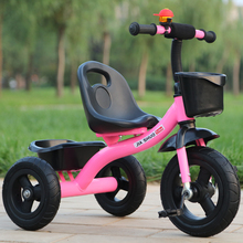 NEW Outdoor Children Tricycle Bicycle Non-slip Wear-resistant Tire Toy Scooter Boy Girl Ride on Car for Children Toys 2-6 Years