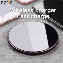 PZOZ Qi Draadloze oplader USB Lader Snel Opladen Telefoon Adapter voor iphone X 8 Plus Xs Samsung S9 S8 note 9 8 xiaomi mi mi x 2s