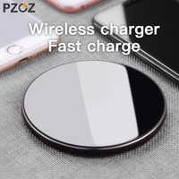 PZOZ Qi caricatore Senza Fili del Caricatore del USB di Ricarica Veloce Adattatore Del Telefono di per iphone X 8 Più Xs Samsung S9 S8 nota 9 8 xiaomi mi mi x 2s