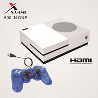 Mini 4K HDMI/AV Output 64 bit X Game TV Handheld Console Dual Core Gamepads Family Video Game Player Built In 600 Classic Games