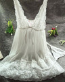 yomrzl M305 Fashion hot-selling fresh nightgown female temptation transparent sexy lace sleepwear V-neck spaghetti strap