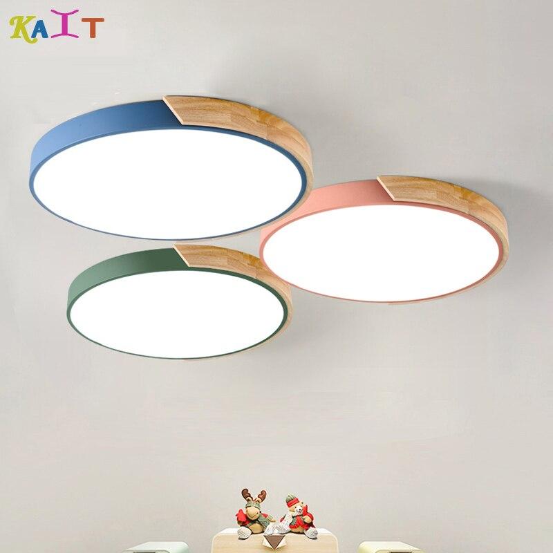 KAIT multiple colour Led Ceiling Lights Living Room Led Ceiling Light Fixture Restaurant Ceiling Lamps
