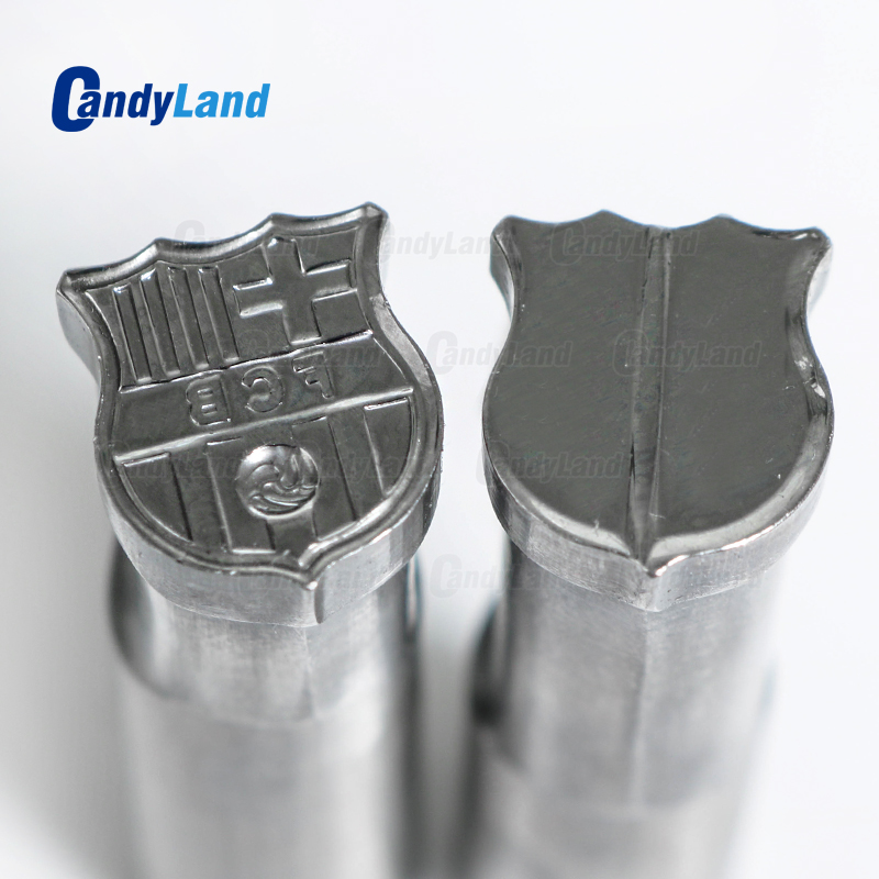 CandyLand Football Milk Tablet Die 3D Punch Press Mold Candy Punching Die Custom Logo Calcium Tablet