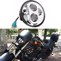 "5 3/4 5.75"" LED Projector Headlight Daymaker for 833 750 Street Bob Night Road"