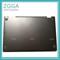 Оригинальный нижний регистр база в виде ракушки новый для lenovo IdeaPad Йога 13 ноутбук Нижняя крышка серебро W/динамик телевизионные антенны