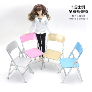 1/6 scale chair Five colors optional display for 12