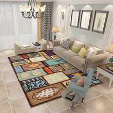 Fashion Carpets Parlor Area Rugs Washable Mat Rectangle Carpet Living Room Ocean Decoration Large