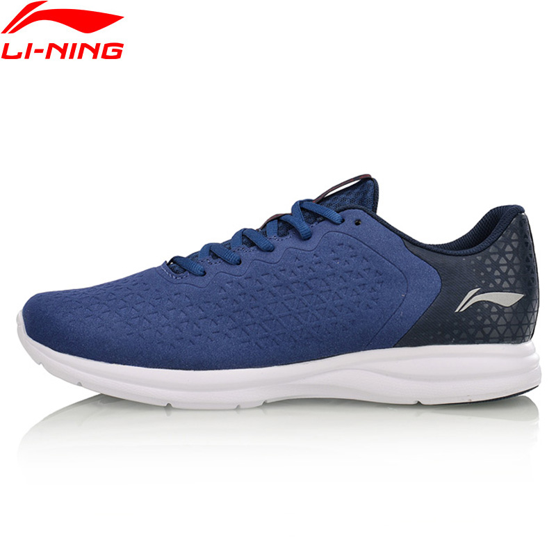 Li-Ning Men EZ RUN Light Weight Running Shoes Anti-Slippery LiNing Sports Shoes Breathable Sneakers ARBM053 XYP586 cтеппер bs 803 bla b ez